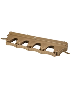 Brown Plastic Wall Bracket for 4-6 Tools