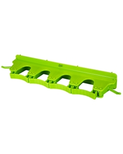 Lime Green Plastic Wall Bracket for 4-6 Tools