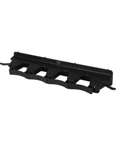 Black Plastic Wall Bracket for 4-6 Tools