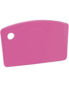 Pink Plastic Mini Bench Scraper