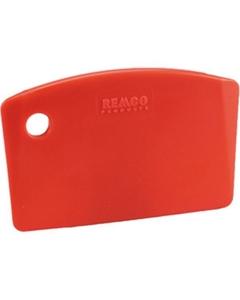 Red Plastic Mini Bench Scraper