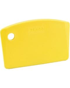 Yellow Plastic Mini Bench Scraper