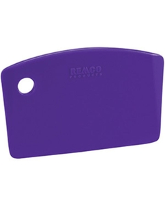 Purple Plastic Mini Bench Scraper