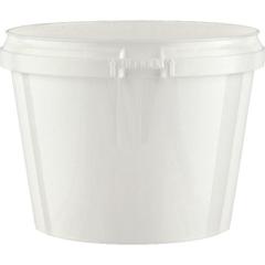 Superfos® 20 oz. White PP Plastic Safe Lock Tamper Evident Container
