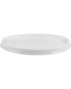 1 Quart White Pry-off Plastic Lid L412