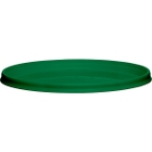 110mm Green PP Plastic Round Tamper Evident Lid For 8-32 oz. Containers