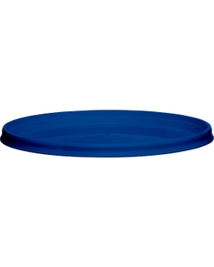 110mm Blue PP Plastic Round Tamper Evident Lid, For 8-32 oz. Containers