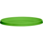 110mm Light Green PP Plastic Round Tamper Evident Lid For 8-32 oz. Containers