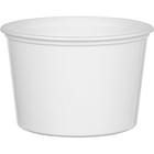 16 oz. White PP Plastic Round Container, L409