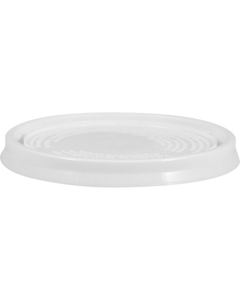 1/2 Pint White Pry-off Plastic Lid