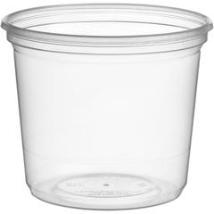 20 oz Clear PP Magik Container, 600 ml, Use w/ Magik Lids, 500/Box