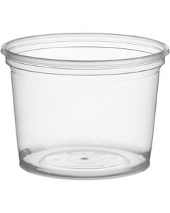 16 oz. Clear PP Plastic Magik Container