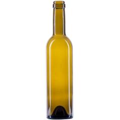 375 ml Antique Green Classic Bordeaux Wine Bottles, Punted, Cork 12/cs