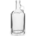 375 ml Clear Glass Moonshine Jug, Bar Top, 12/cs