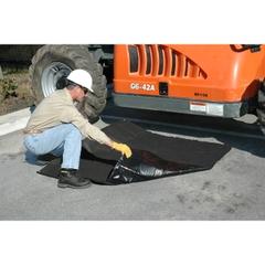 Ultra Absorbent Black Tarp® Spill Prevention Mat - 10' x 10'