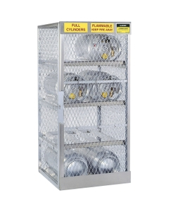 8 Cylinder Horizontal LPG Gas Aluminum Storage Locker (Justrite® 23003)