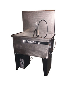 Stainless Steel Aqueous Parts Washer, Recirculating, Flow-Thru Brush Assembly