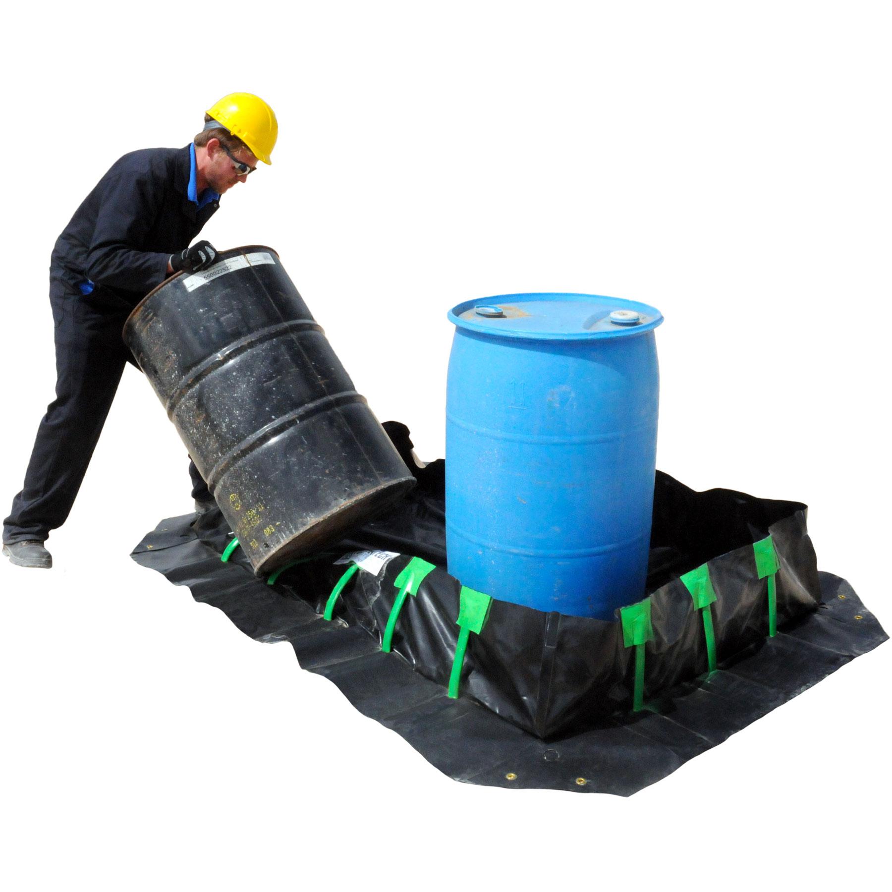 Ultra Tech Spill Containment : Ultratech  spill containment berm stake