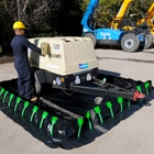 """10"""" x 10"""" x 1"""" Ultra-Containment Berms®, Stake Wall Model"""