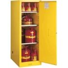 Sure-Grip® EX Deep Slimline Flammable Safety Cabinet, 54 Gallon, S/C Door, Yellow