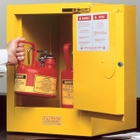Sure-Grip® EX Countertop Flammable Safety Cabinet, 4 Gallon, S/C Door, Yellow