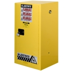 Sure-Grip® EX Compac Flammable Safety Cabinet, 15 Gallon, M/C Door, Yellow