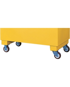 Heavy-Duty Casters for Safesite™ Combo Safety Chest, 2,000 lb. Load Capacity (Justrite® 16043)