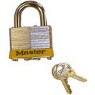 Padlock Master Lock® No. 5 for Safety Cabinets, set of 2, Keyed Alike