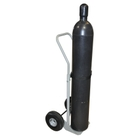 """Single Gas Cylinder Hand Truck, 10.5"""" Pneumatic Wheels (Tools)"""