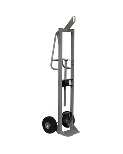 "Single Gas Cylinder Hand Truck w/Hoist Ring, 10.5"" Pneumatic Wheels (Tools)"