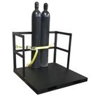 Gas Cylinder Forklift Pallet, 21 Cylinder Capacity, End Loaded