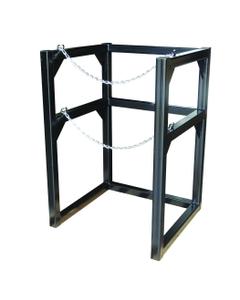 "1-Cylinder (1x1) Cryogenic Cylinder Barricade Storage Rack, 22"" Dia."