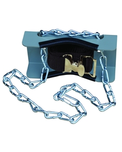 Gas Cylinder Support Bracket w/Chain, 1 Cylinder Capacity, Wall Mount (Tools)Back Reset Delete Duplicate Save  Save and Continue Edit