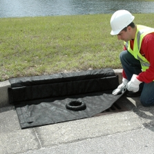 """24"""" x 36"""" Curb Style Ultra-Inlet Guard Plus® w/Built in Overflow Port"""