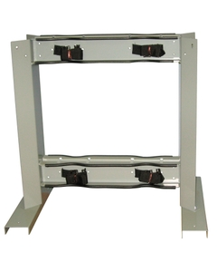 Gas Cylinder Stand, 4 Cylinder Capacity, Back-to-Back
