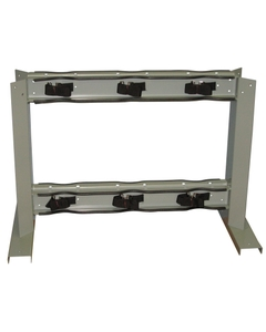 Gas Cylinder Stand, 6 Cylinder Capacity, Back-to-Back