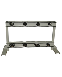 Gas Cylinder Stand, 8 Cylinder Capacity, Back-to-Back