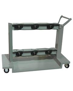 Gas Cylinder Cart, 6 Cylinder Capacity