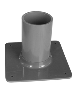 """Small Gas Cylinder Holder, 1 Cylinder Capacity, 3"""" Dia. Bench Mount"""