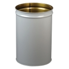 15 Gallon Gray Cease-Fire® Waste Receptacle Safety Drum Can