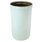 15 Gallon White Cease-Fire® Waste Receptacle Safety Drum Can