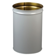 30 Gallon Gray Cease-Fire® Waste Receptacle Safety Drum Can