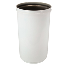 30 Gallon White Cease-Fire® Waste Receptacle Safety Drum Can