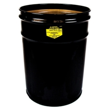 6 Gallon Black Cease-Fire® Waste Receptacle Safety Drum Can