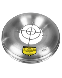 Aluminum Head with Grill Guard for Cease-Fire® Ash and Butt Receptacle