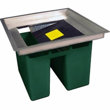 """Ultra-Hydrokleen® Recessed Frame for Pollutants, Fits Drains 20""""-25"""""""