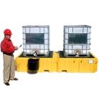 Ultra-Twin IBC Spill Pallet® - UltraTech 1140/1144 (Shown w Bucket)
