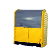 2-Drum Ultra-Hard Top P2 Plus Spill Pallet (No Drain) - UltraTech 9612