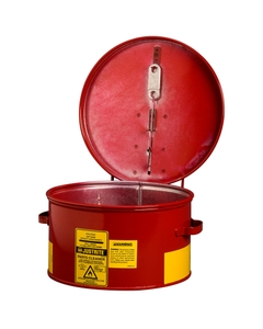 1 Gallon Red Dip Tank Parts Washer w/Self-Closing Fire Cover