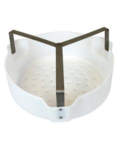 Basket for Parts for Dip Tank 37BJ12 & Wash Tank 37BJ26, Poly basket, Steel brackets
